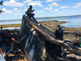 T.A.P. into Cow Island