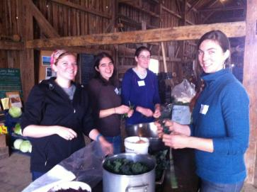 T.A.P. into the LongBarn at Broadturn Farm