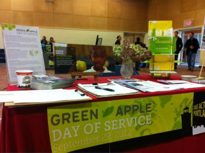 T.A.P. into the Green Apple Day of Services