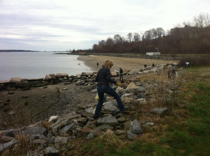 Earth Day Cleanup with Surfrider