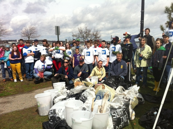 Earth Day Beach Cleanup with Surfrider