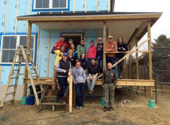 T.A.P. into Habitat for Humanity